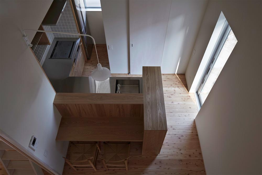新築のオーダーキッチン